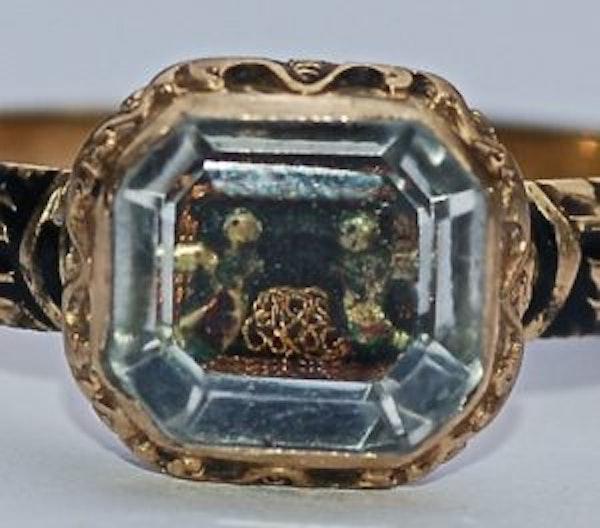 Stuart Crystal Ring - image 2