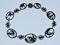 Berlin Iron Mythological Necklace - image 3