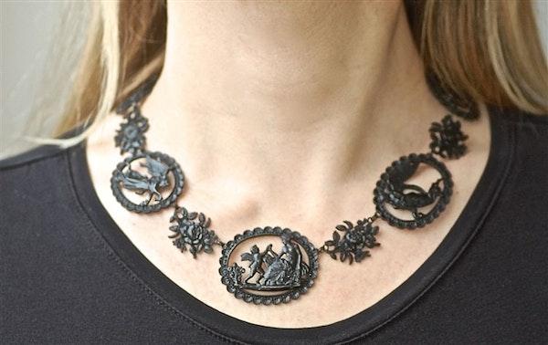 Berlin Iron Mythological Necklace - image 1