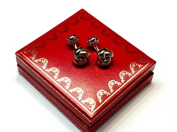 Cartier Trinity cufflinks  DBGEMS - image 3