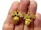 Antique acorn filigree 18ct gold earrings  DBGEMS - image 2