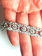 French art deco diamond bracelet  DBGEMS - image 3