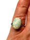 Edwardian opal and diamond dress ring  DBGEMS - image 3