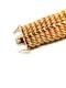 18ct gold inter woven wide gold bracelet  DBGEMS - image 3