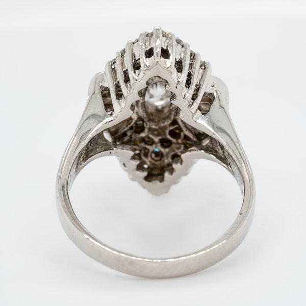 Diamond Cocktail Ring - image 4