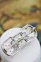 "A very fine Platinum, Diamond and ""Calibre cut"" Sapphire ""Art Deco"" Brooch, Circa 1930. 5,750.00 - image 3"