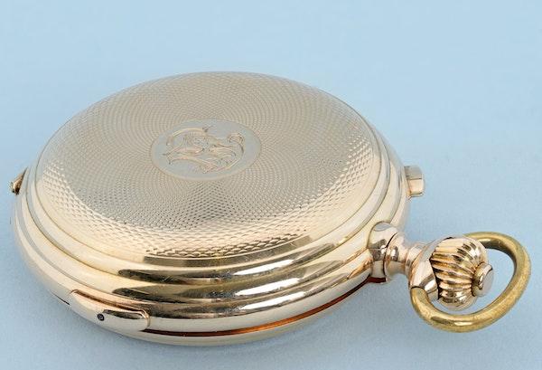 GOLD QUARTER REPEATING SWISS CALENDAR - image 4