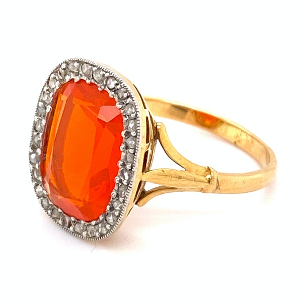 Fire Opal Ring - image 2