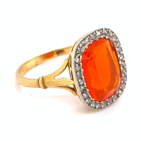 Fire Opal Ring - image 3