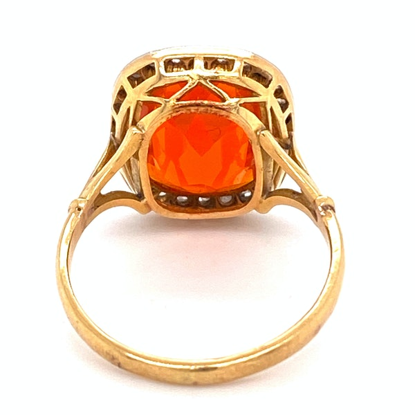 Fire Opal Ring - image 4