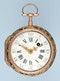 RARE GOLD AND GLASS FRENCH VERGE POCKET WATCH - image 3