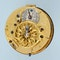 RARE GOLD AND GLASS FRENCH VERGE POCKET WATCH - image 2