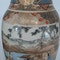 Pair Japanese Satsuma vases with decoration of wealthy figures - image 2