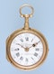 GOLD QUARTER REPEATING SWISS VERGE POCKET WATCH - image 3