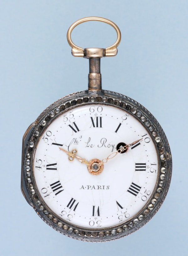 THREE COLOUR GOLD FRENCH VERGE POCKET WATCH - image 3