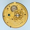 DIAMOND SET GOLD AND ENAMEL CHATELAINE WATCH - image 4