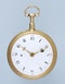 GOLD AND ENAMEL REPEATING FRENCH CYLINDER POCKET WATCH - image 3