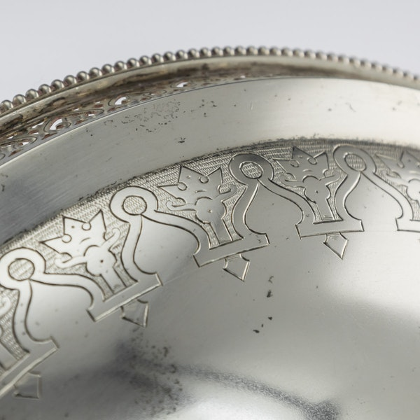 Russian Silver Tazza in Pan-Slavic Style, by Khlebnikov, Moscow, 1888 - image 7