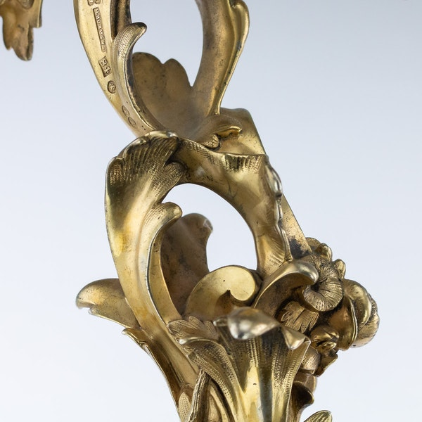 Russian Silver Gilt pair of Tazzas, St. Petersburg 1867 by Sazikov - image 12