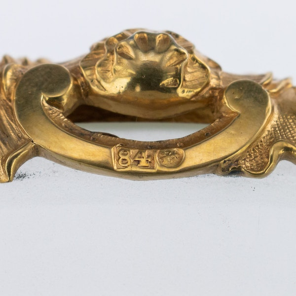 Russian Silver Gilt pair of Tazzas, St. Petersburg 1867 by Sazikov - image 14