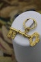 An extremely finely worked 9 Carat (tested) Yellow Gold Key Pendant, Circa 1905. - image 1