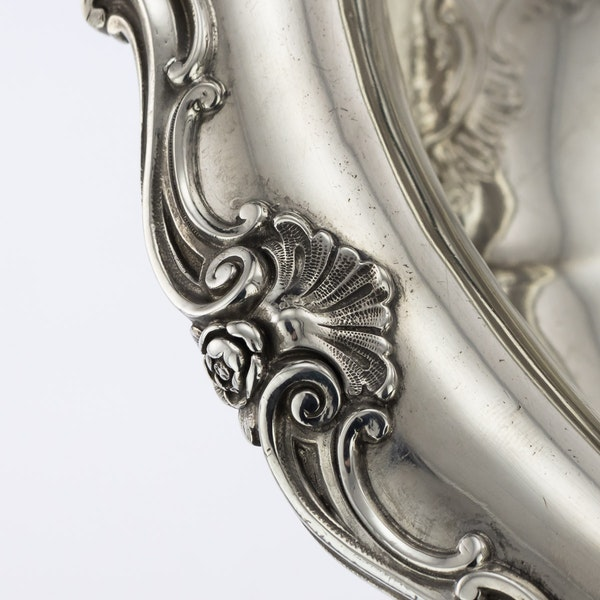 19th Century German Silver Jardiniere by D. Vollgold & Sohn, Berlin c.1890 - image 4