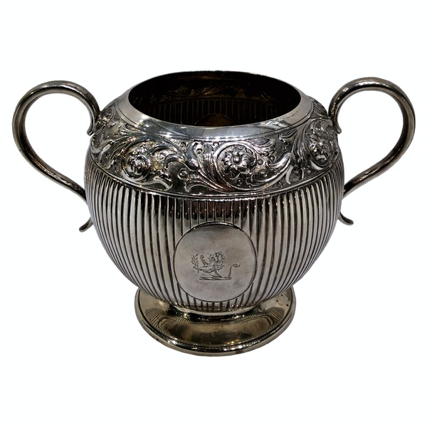 Victorian Sterling Silver Three-Piece Tea Set, English c.1880 - image 5