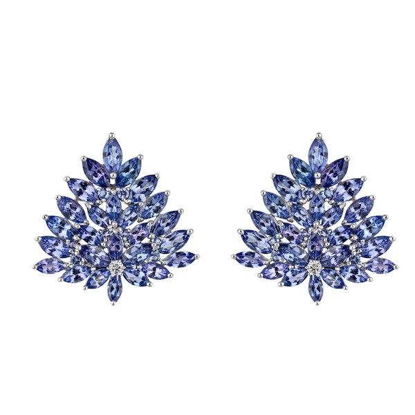 Earrings Tanzanite - image 2