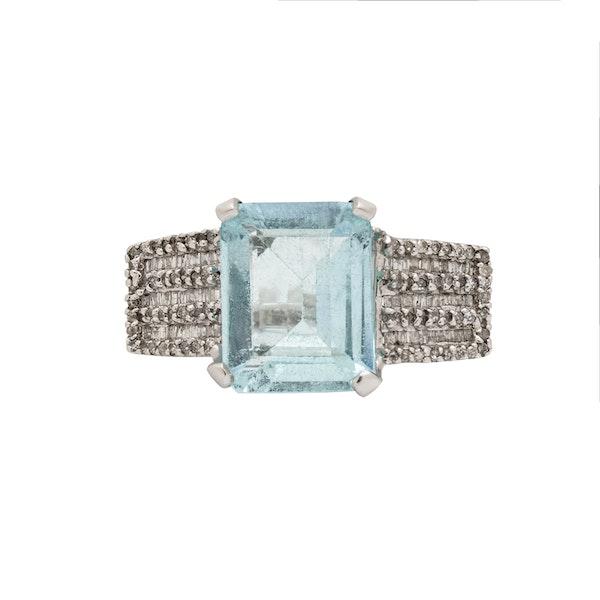 Aquamarine ring - image 2