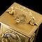 ANTIQUE 20thC 18K GOLD QUARTER REPEATING CARRIAGE CLOCK, LONDON c.1924 - image 10