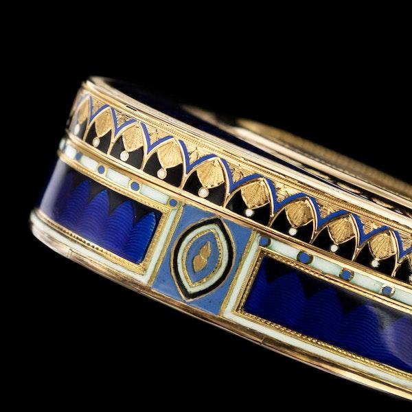 ANTIQUE 19thC SWISS 18k GOLD & ENAMEL SNUFF BOX, GUIDON, GIDE & BLONDET c.1800 - image 16