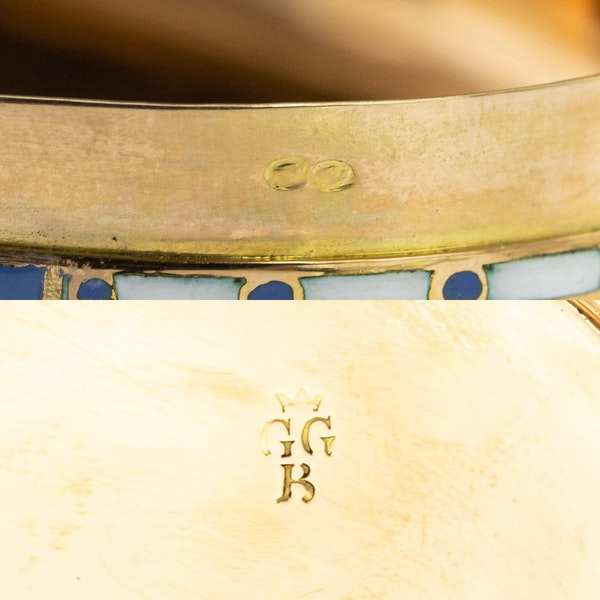 ANTIQUE 19thC SWISS 18k GOLD & ENAMEL SNUFF BOX, GUIDON, GIDE & BLONDET c.1800 - image 17