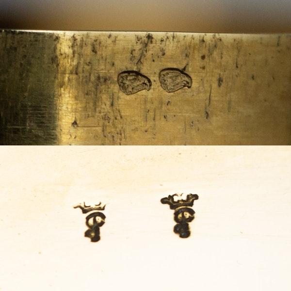ANTIQUE 18thC FRENCH 18k GOLD & ENAMEL SNUFF BOX, PARIS c.1784 - image 12