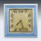 ELEGANT 20thC CARTIER SILVER PLATED & ENAMEL DESK CLOCK c.1945 - image 2