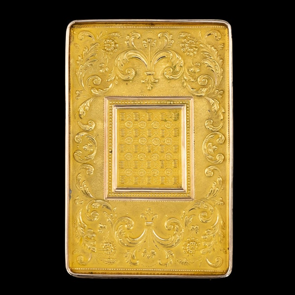 ANTIQUE 19thC SWISS 18k GOLD & ENAMEL SNUFF BOX, GENEVA c.1800 - image 3