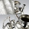 ANTIQUE 19thC VICTORIAN AESTHETIC MOVEMENT SOLID SILVER TEA SERVICE c.1880 - image 8