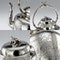 ANTIQUE 19thC VICTORIAN AESTHETIC MOVEMENT SOLID SILVER TEA SERVICE c.1880 - image 11