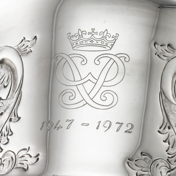 SUPERB 20thC ELIZABETH II SOLID SILVER WINE COOLERS, GARRARD & CO c.1972 - image 11