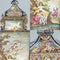 ANTIQUE 19thC AUSTRIAN SILVER-GILT & ENAMEL MANTEL CLOCK, RUDOLF LINKE c.1890 - image 8