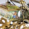 ANTIQUE 19thC AUSTRIAN SOLID SILVER-GILT & ENAMEL CARRIAGE, VIENNA c.1890 - image 9
