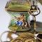 ANTIQUE 19thC AUSTRIAN SOLID SILVER-GILT & ENAMEL CARRIAGE, VIENNA c.1890 - image 13