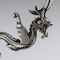 ANTIQUE 19thC CHINESE EXPORT SOLID SILVER DRAGON EPERGNE, HUNG CHONG & CO c.1890 - image 11