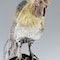 ANTIQUE 19thC JAPANESE SOLID SILVER & MIX METAL ROOSTER c.1890 - image 7