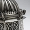 ANTIQUE 20thC INDIAN SOLID SILVER TEMPLE SHAPED TEA CADDY, OOMERSI MAWJI c.1920 - image 8