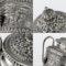 ANTIQUE 20thC INDIAN KARACHI-CUTCH SOLID SILVER TEA SET, J MANIKRAI c.1900 - image 8