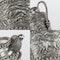 ANTIQUE 20thC INDIAN KARACHI-CUTCH SOLID SILVER TEA SET, J MANIKRAI c.1900 - image 7