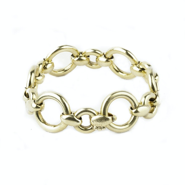 Hermes gold bracelet - image 2