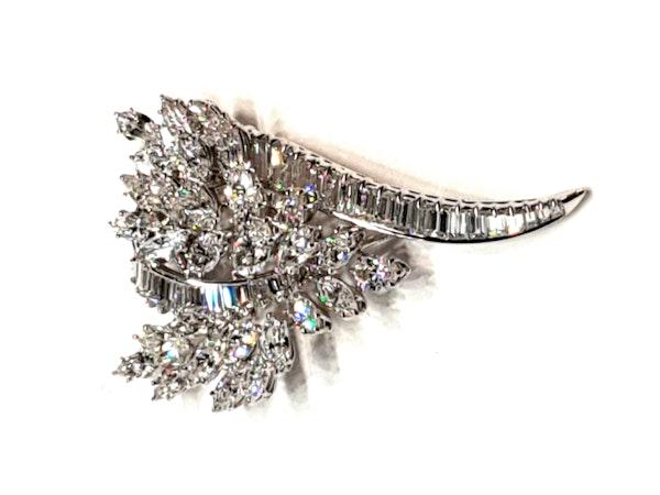 Golay fils et Stahl diamond brooch  DBGEMS - image 1