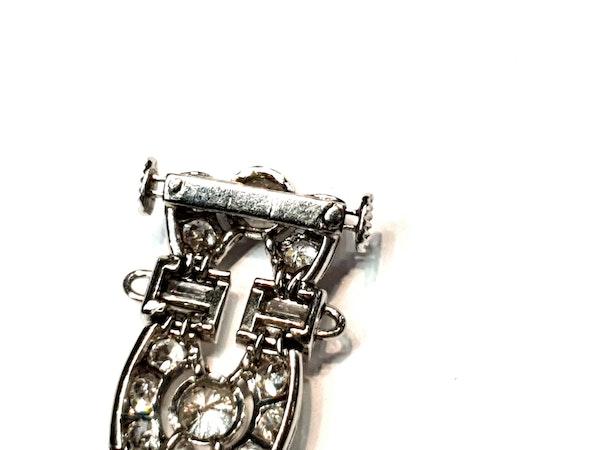 Art deco diamond bracelet  DBGEMS - image 5