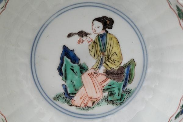 A CHINESE FAMILLE VERTE BOWL, KANGXI (1662-1722) - image 3